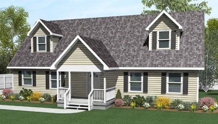 Kea by All American Homes Cape Cod FloorplanAll American Homes Kea Cape Cod Description This spacious floor plan welcomes you into the open foyer   a coat closet conveniently located to your right