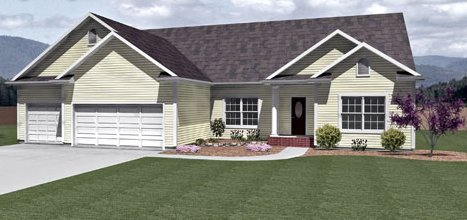 Manchester ii by all american homes ranch floorplan for All american homes floor plans