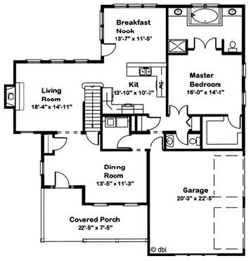 Anchor Mill by Excel Modular Homes Two Story Floorplan