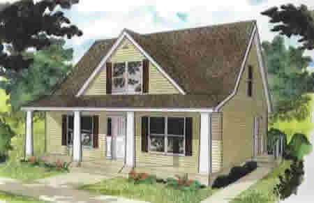 C093521 2 by hallmark homes cape cod floorplan for Cape cod modular home plans