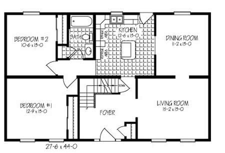 C121021 3 by hallmark homes cape cod floorplan for Hallmark homes floor plans