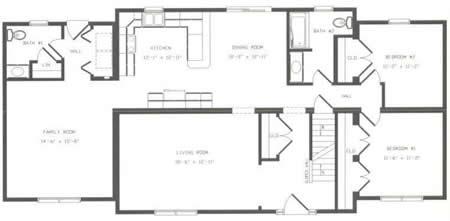 C153022 1 by hallmark homes cape cod floorplan for Hallmark homes floor plans
