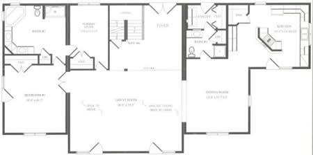C220512 1 by hallmark homes cape cod floorplan for Hallmark homes floor plans