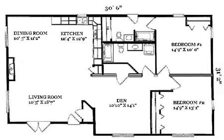 R158422 1 By Hallmark Homes Ranch Floorplan