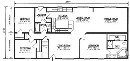 R165032 2 by hallmark homes ranch floorplan for Hallmark homes floor plans
