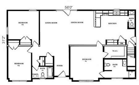 R173633 1 by hallmark homes ranch floorplan for Hallmark homes floor plans