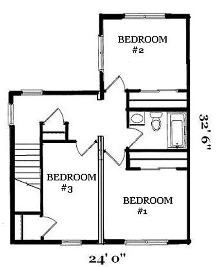 T121632-1 by Hallmark Homes Two Story Floorplan on floor plans apartment, floor plans two bedrooms, floor plans of a two story home,