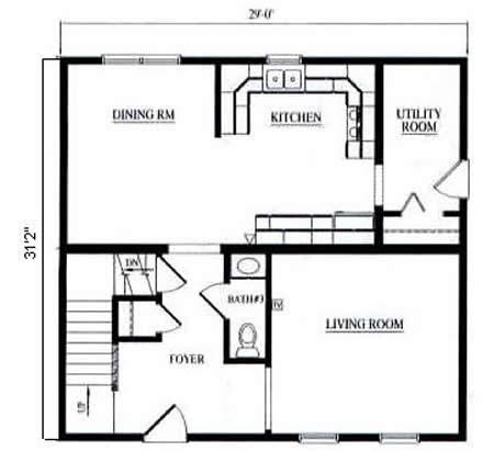 T180843 1 by hallmark homes two story floorplan for Hallmark homes floor plans