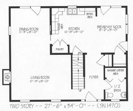 T187033 3 by hallmark homes two story floorplan for Hallmark homes floor plans