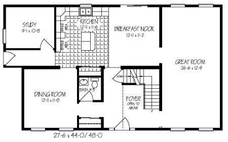 T253043 2 by hallmark homes two story floorplan for Hallmark homes floor plans