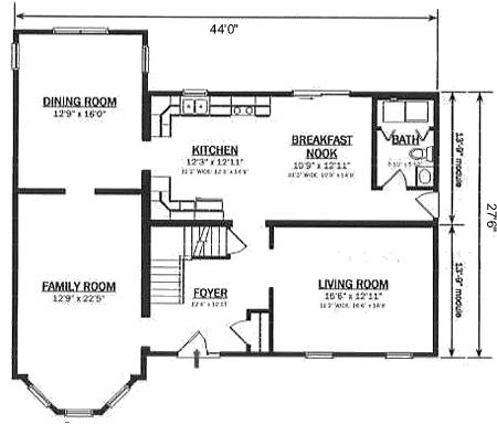 T268233 1 by hallmark homes two story floorplan for Hallmark homes floor plans