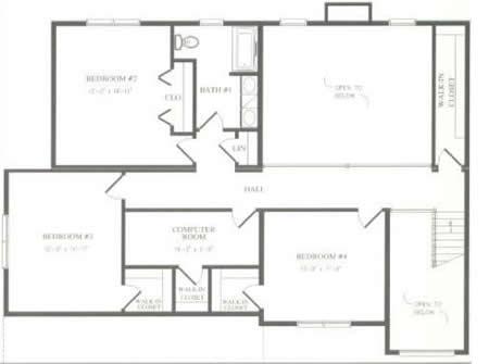 T331043 1g by hallmark homes two story floorplan for Hallmark homes floor plans