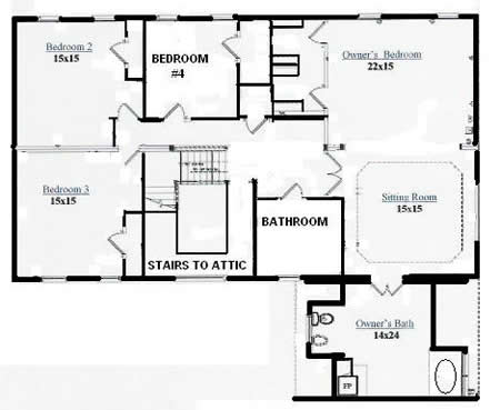 T346543 1g by hallmark homes two story floorplan for Floor someone