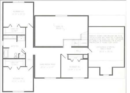 T368743 1 by hallmark homes two story floorplan for Hallmark homes floor plans