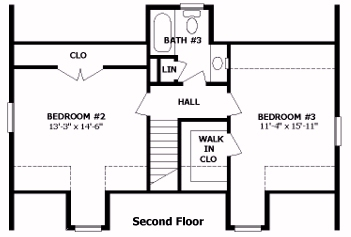 Cameron by professional building systems cape cod floorplan for Professional house plans