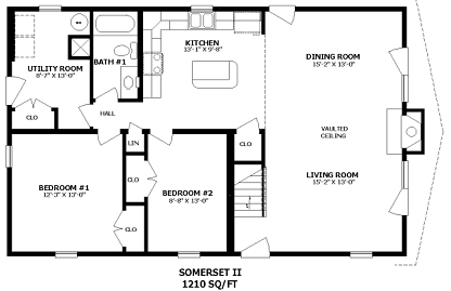 Somerset ii by professional building systems two story for Professional house plans