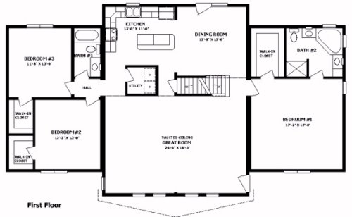 Wyoming III by Professional Building Systems Two Story ...