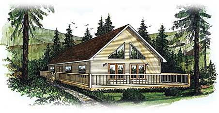 Cedar Lake Ii By Penn Lyon Homes Ranch Floorplan