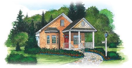 Collins By Penn Lyon Homes Ranch Floorplan