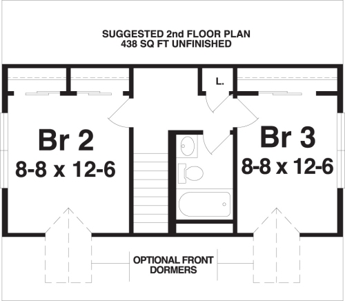 Cape Cod Modular Home Floor Plans - BSN Homes