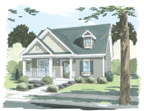 Eastport by Simplex Modular Homes Cape Cod Floorplan