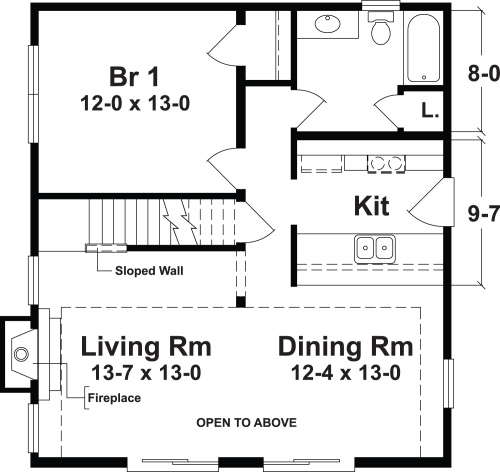 Lakeview a by simplex modular homes two story floorplan for 1 bedroom mobile homes floor plans
