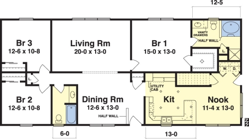 Livingston Ranch Floorplan By Simplex Modular Homes