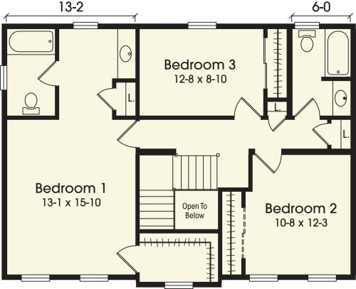 New charleston by simplex modular homes two story floorplan for Charleston homes floor plans
