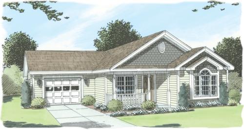 Savannah by simplex modular homes ranch floorplan for Savannah style house plans