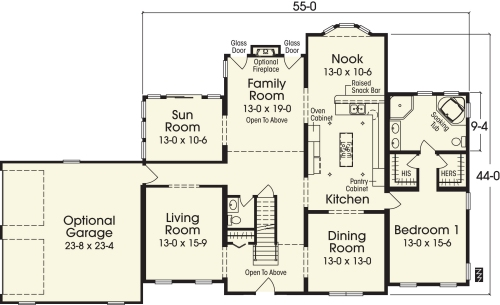 Stockbridge by Simplex Modular Homes Two Story Floorplan