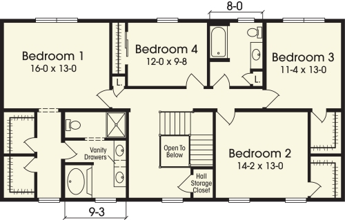 Bedroom House Plans 2 Story This Is Two Story House Plans