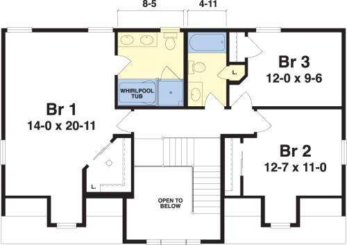 Westport By Simplex Modular Homes Cape Cod Floorplan