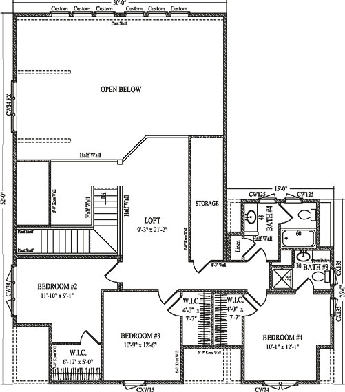 carrington by wardcraft homes two story floorplan a look at lake carrington s floorplans homes of the rich