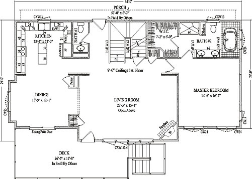 Evanston By Wardcraft Homes Two Story Floorplan