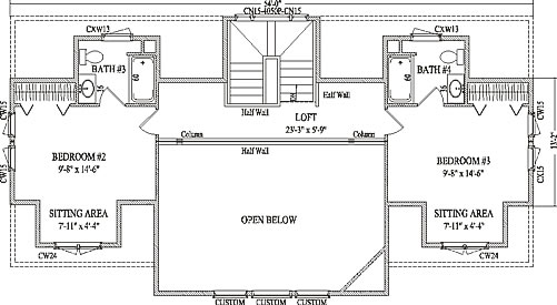 Wardcraft homes floor plans floor matttroy for 2200 square foot house plans