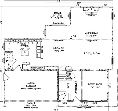 ... Home Plan Center Source · Fairbury By Wardcraft Homes Two Story  Floorplan