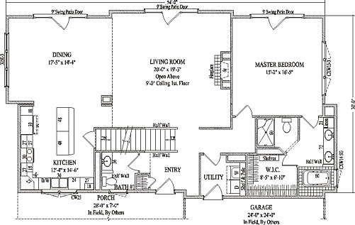 McAllister By Wardcraft Homes Two Story Floorplan