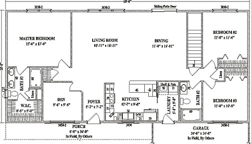 richmond by wardcraft homes ranch floorplan