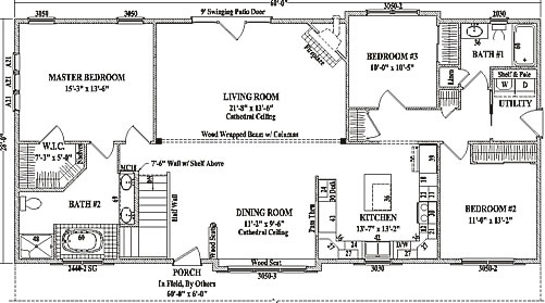 Ranch Style House Plans 1600 Sq Ft