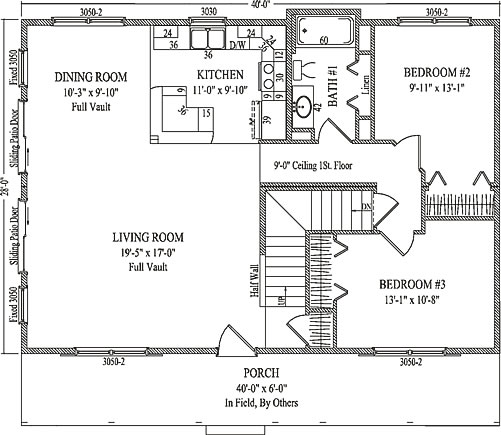Vail By Wardcraft Homes Two Story Floorplan