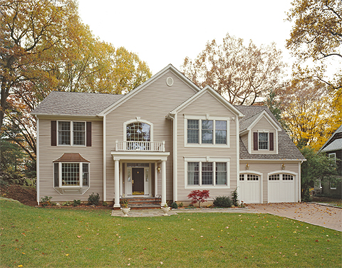 Custom colonial 2 by westchester modular homes two story for Custom colonial homes