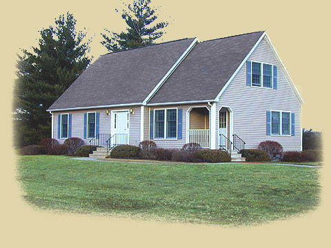 Yarmouth by westchester modular homes cape cod floorplan for Cape cod modular home plans