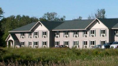 modular hotel with log details