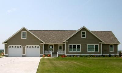 Dickinson homes modular homes photos for Modular homes with garages