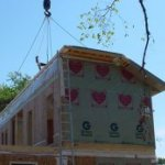 Two Story Modular Home Construction